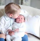 Первое фото принцессы Кембриджской Шарлотты. И колыбельная в подарок!