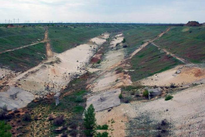 Остатки петровского канала